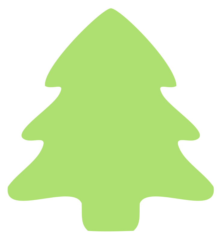 Free vector tree clipart png black and white download Christmas Tree | Free Stock Photo | Illustration of a Christmas tree ... png black and white download