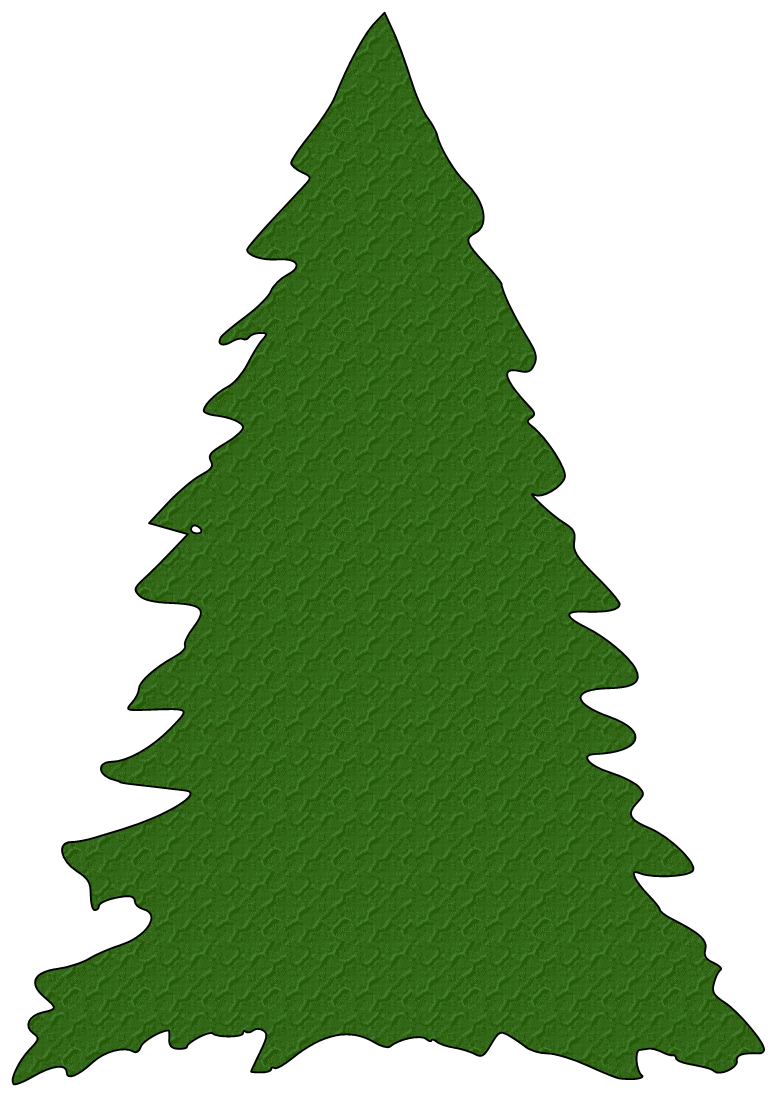 Christmas tree clipart silhouette png free stock Paper This And That: Another Free Christmas Tree SVG File | kerst ... png free stock