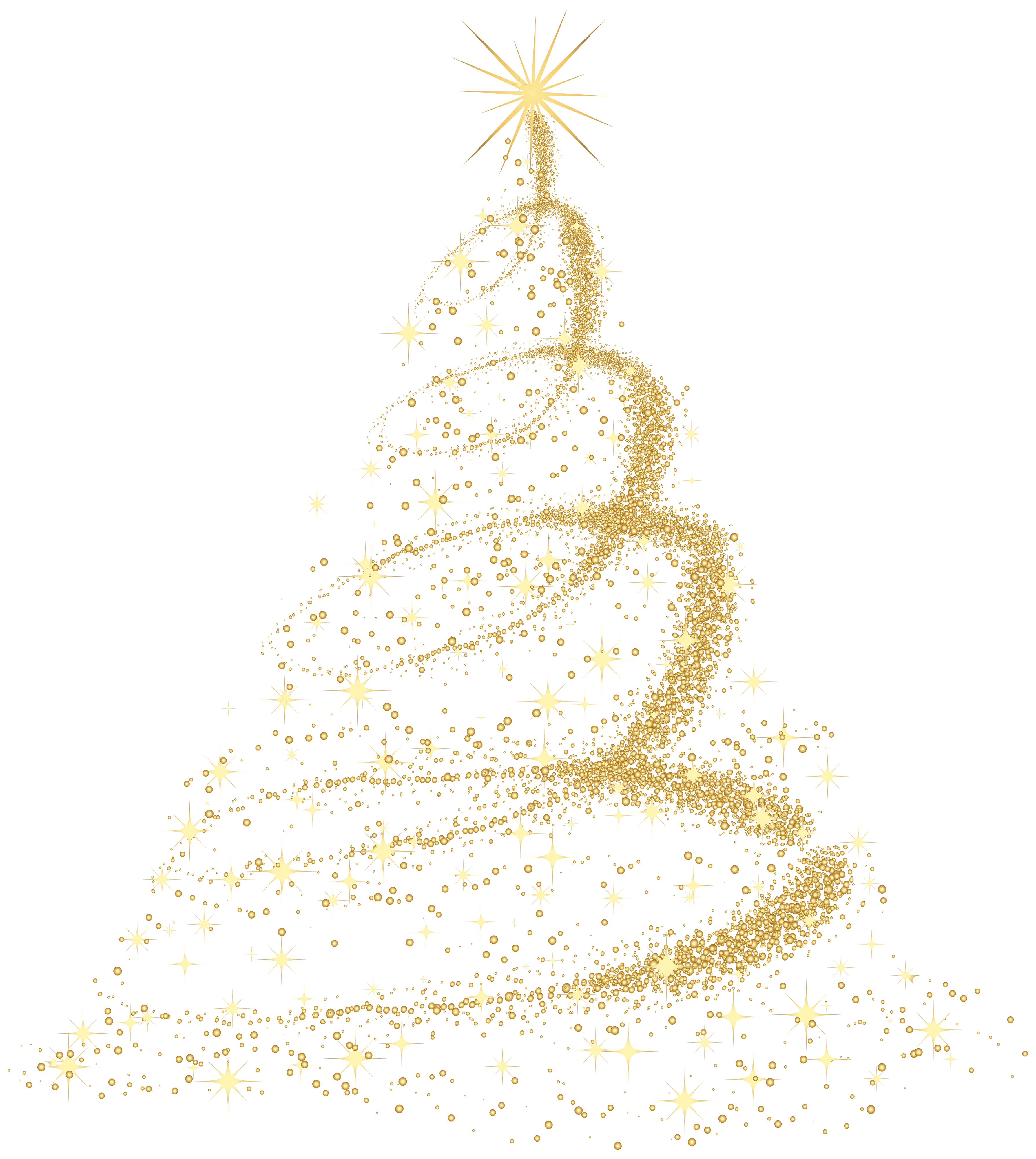 Family christmas tree clipart png Deco Christmas Tree Transparent PNG Clip Art Image | Gallery ... png