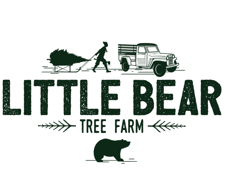 Christmas tree farm clipart graphic free stock Little Bear Tree Farm - Online graphic free stock