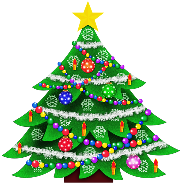 Cute christmas tree clipart jpg freeuse Transparent Christmas Tree Clipart Picture | Gallery Yopriceville ... jpg freeuse