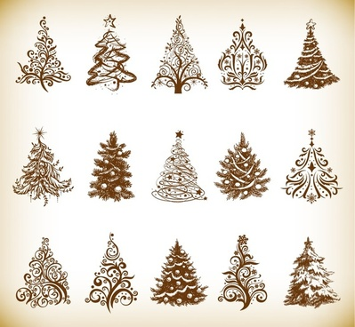 Christmas tree graphics clipart vector freeuse download Free christmas tree clip art vector images free vector download ... vector freeuse download
