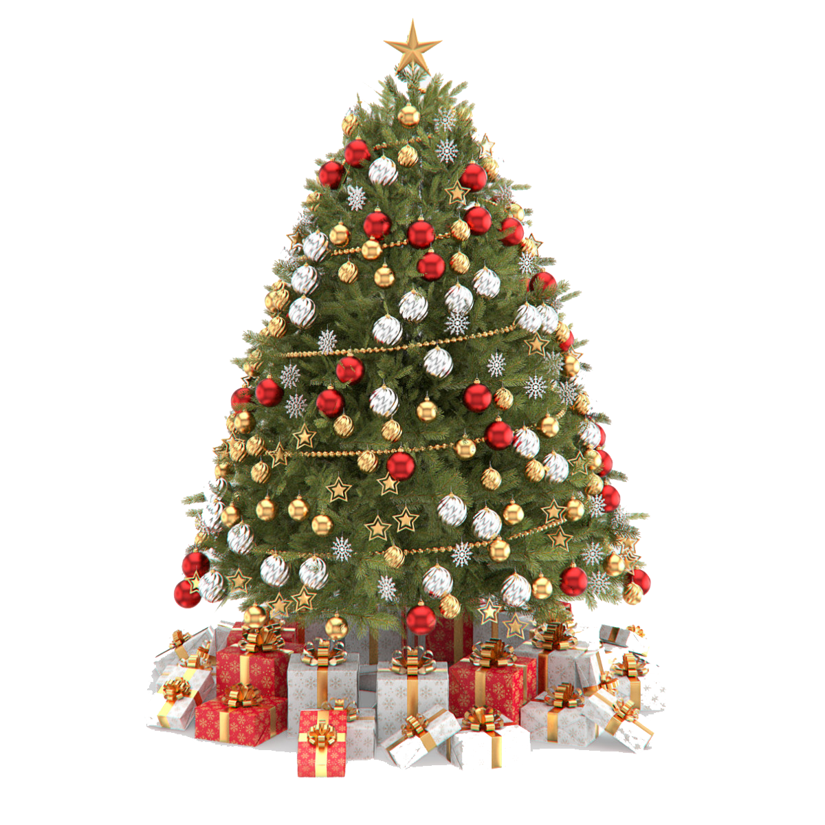 Christmas tree light clipart clip library download Christmas Tree PNG Clipart | PNG Mart clip library download