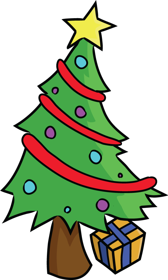 Christmas tree light clipart graphic library Cartoon christmas tree clipart - Clipart Collection | Xmas tree ... graphic library