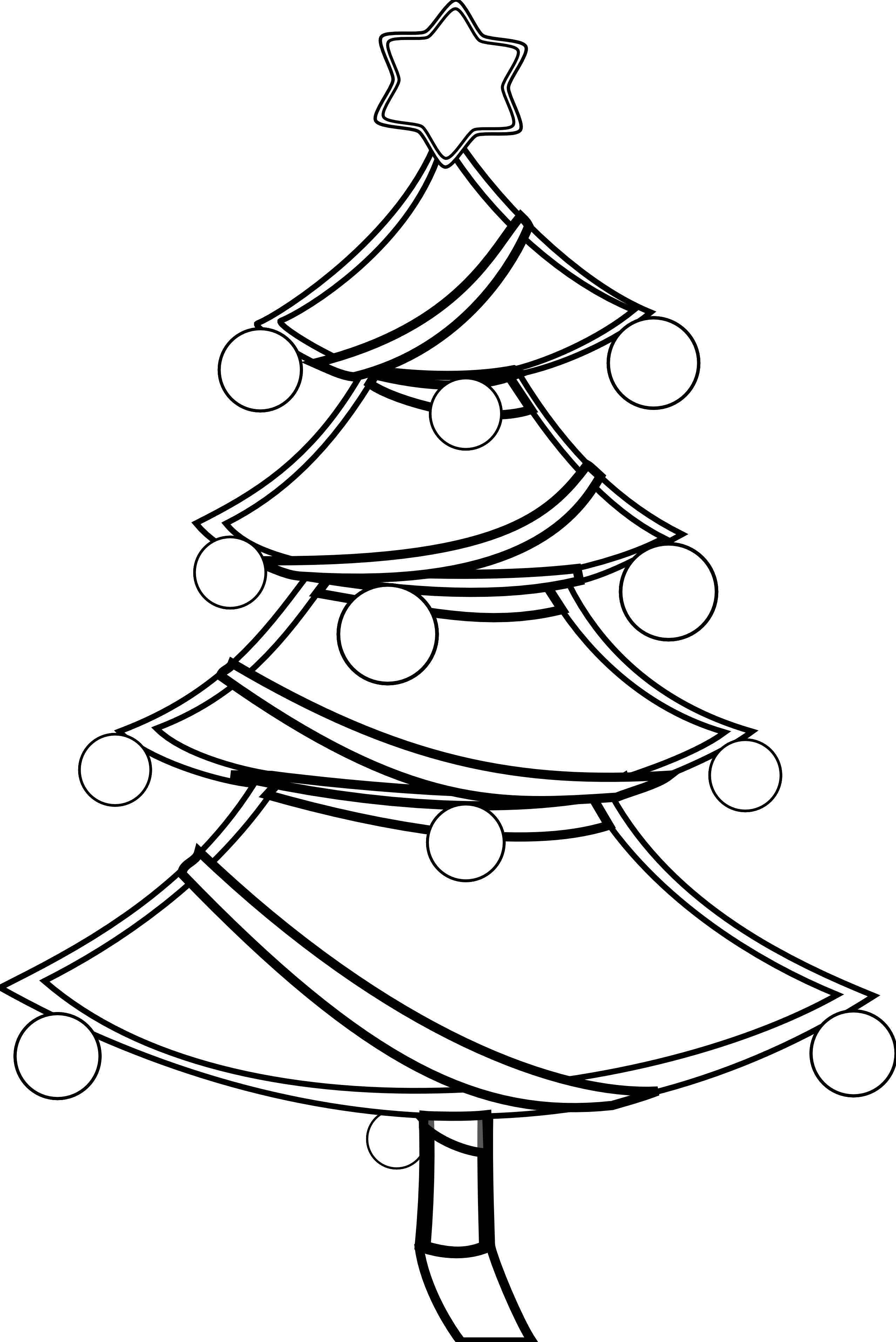 Christmas tree lighting black and white clipart picture free library Xmas Stuff For > Christmas Candy Clip Art Black And White | Crafts ... picture free library