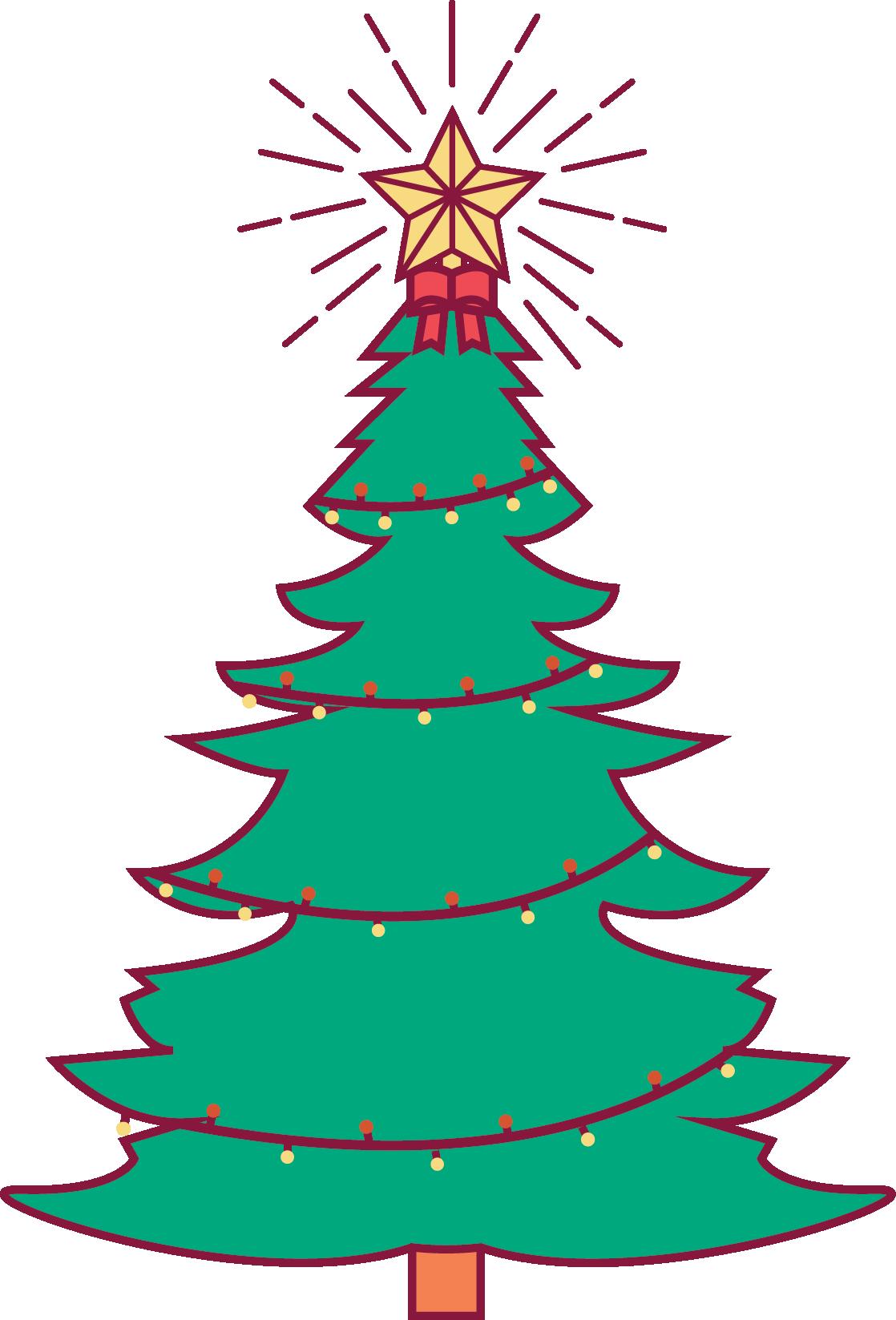Christmas tree lighting clipart vector transparent stock Holidays on Broughton Street, Savannah, GA vector transparent stock