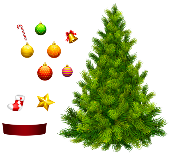 Decorating a christmas tree clipart svg transparent 17 Christmas Tree Clip Art Images | Merry Christmas svg transparent