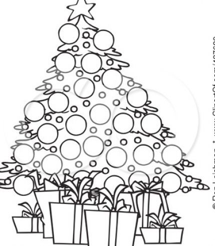Christmas tree ornaments black and white clipart vector download clip art black and white   Black and white christmas tree clip art ... vector download