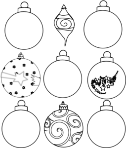 Christmas tree ornaments black and white clipart png Free Ornament Outline Cliparts, Download Free Clip Art, Free Clip ... png