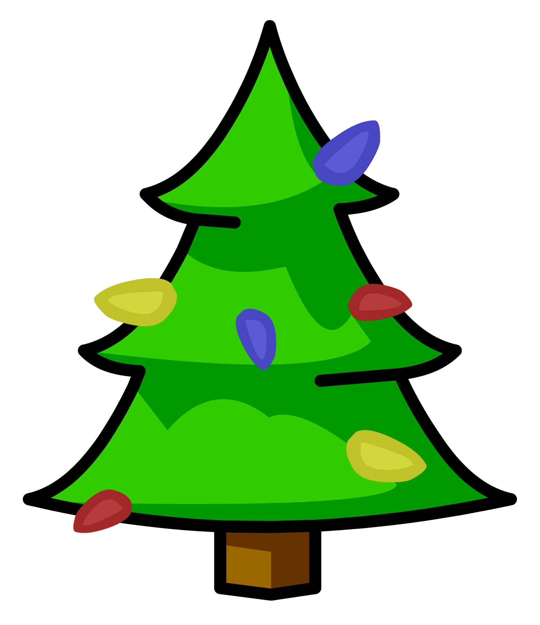 Christmas tree shop clipart picture freeuse Christmas Tree pin | Club Penguin Wiki | FANDOM powered by Wikia picture freeuse