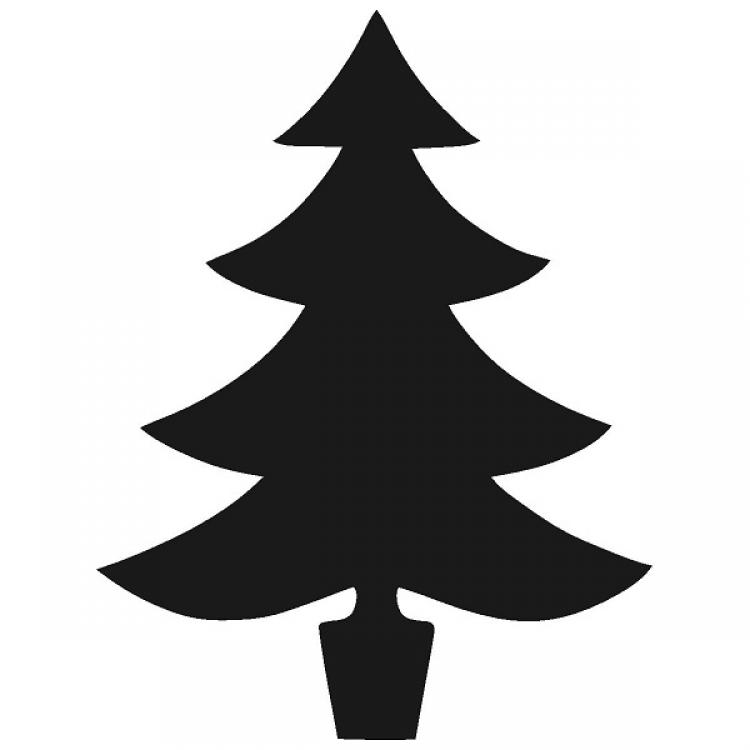 Christmas tree silhouette clipart free image free library Free Xmas Tree Silhouette, Download Free Clip Art, Free Clip Art on ... image free library