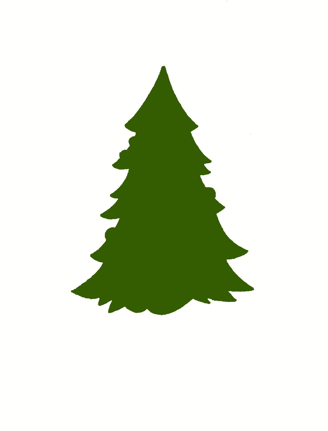 Green coffee cup christmas trees clipart vector png jpg royalty free library Free Xmas Tree Silhouette, Download Free Clip Art, Free Clip Art on ... jpg royalty free library