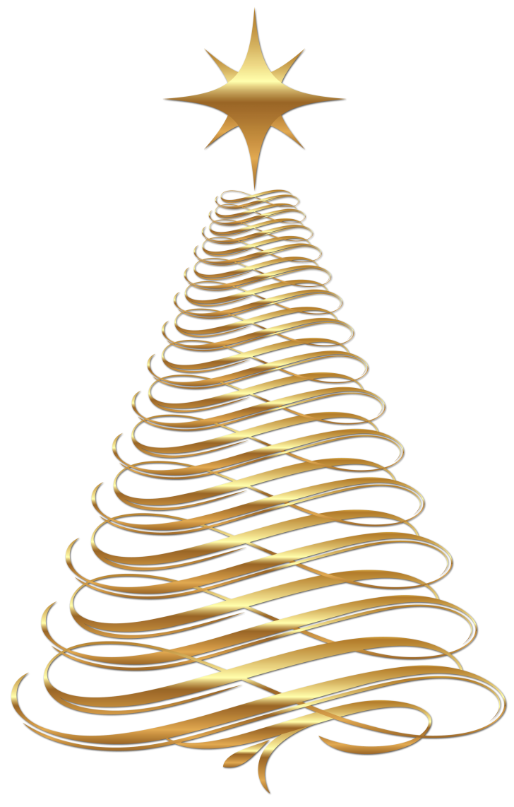 baby nursery ~ Marvelous Simple Gold Christmas Tree From Stars Stock ... image library download