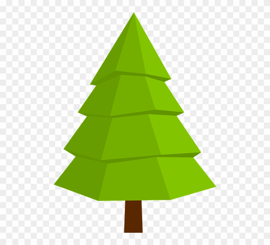 Christmas tree top view clipart clipart freeuse library Transparent Christmas Tree Icon Free Clipart (#1191217) - PinClipart clipart freeuse library