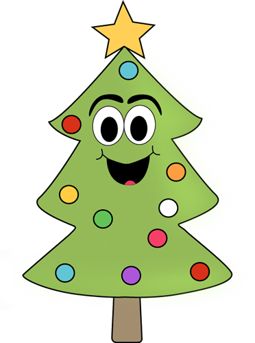 Christmas tree top view clipart banner HAPPY CHRISTMAS TREE CLIP ART | CLIP ART - CHRISTMAS 1 - CLIPART ... banner