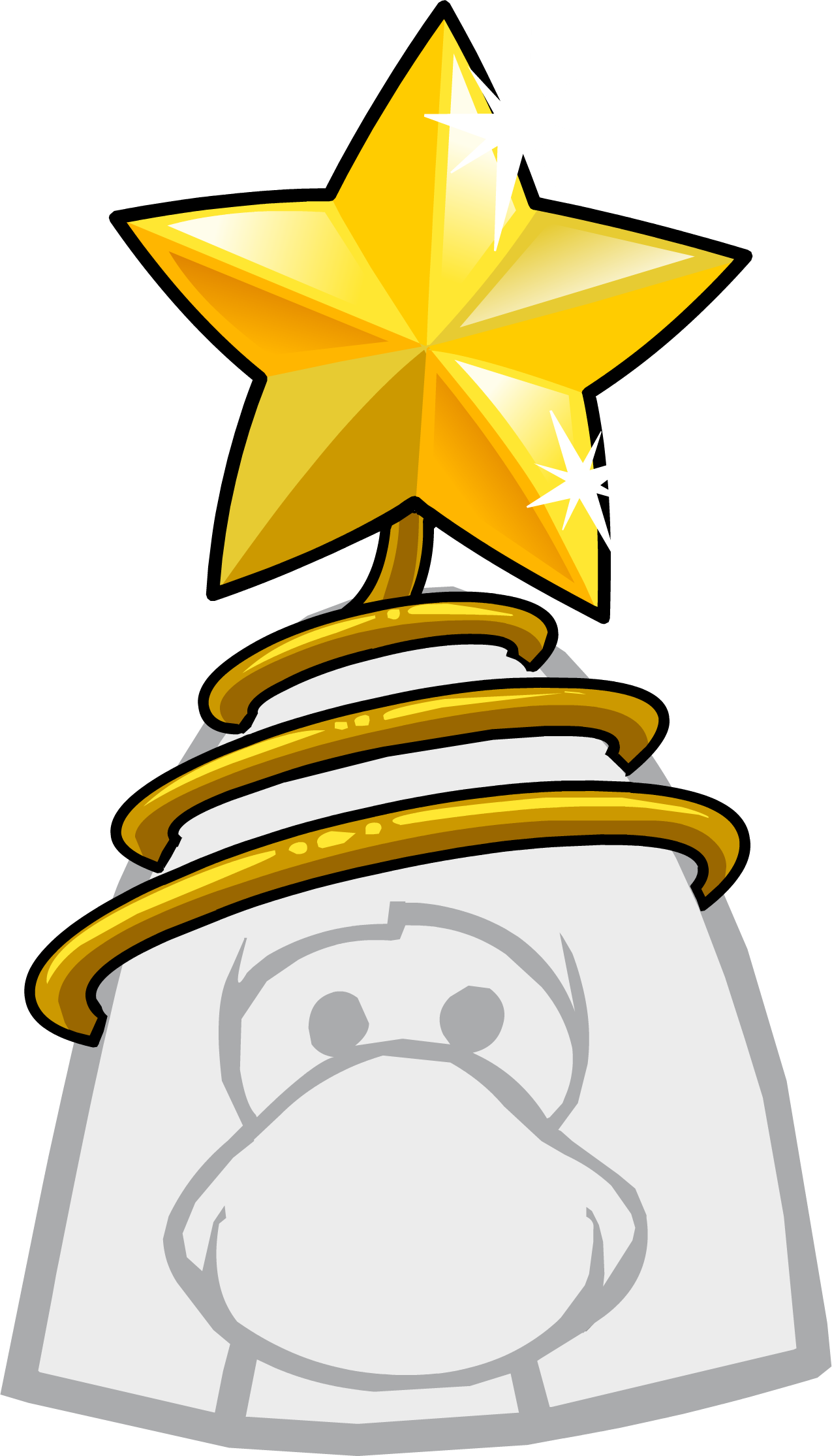 Star tree topper clipart svg royalty free The Tree Topper | Club Penguin Wiki | FANDOM powered by Wikia svg royalty free