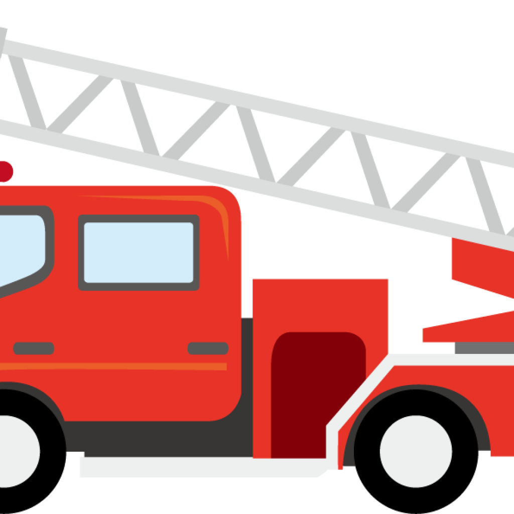 Red truck with christmas tree clipart png library Fire Truck Clipart monkey clipart hatenylo.com png library