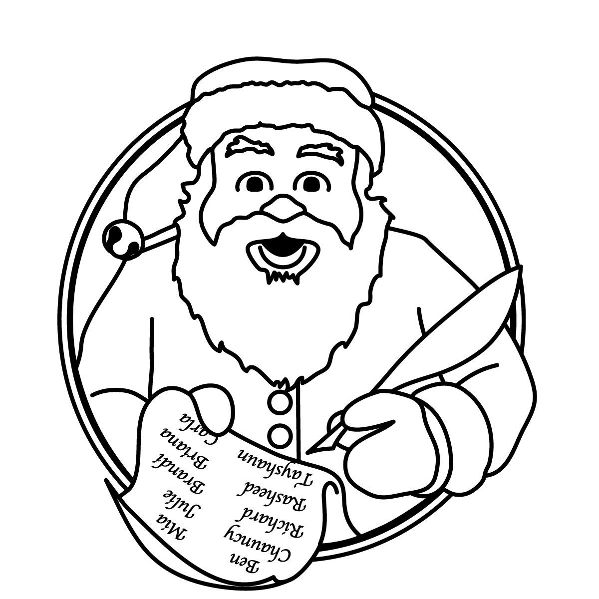 Christmas tree with face black and white clipart clipart library library Free Christmas Tree Black And White Clipart, Download Free Clip Art ... clipart library library
