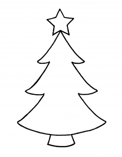 Christmas trees outline clipart banner black and white download Pin by Md Hassan on Christmas Clip Art Black and White | Christmas ... banner black and white download