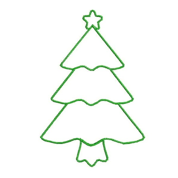 Christmas trees outline clipart clipart royalty free Free Christmas Tree Outlines, Download Free Clip Art, Free Clip Art ... clipart royalty free