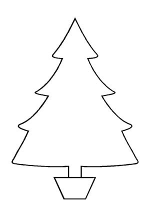Christmas trees outline clipart png download Clip Art Christmas Tree Outline | Clipart Panda - Free Clipart Images png download