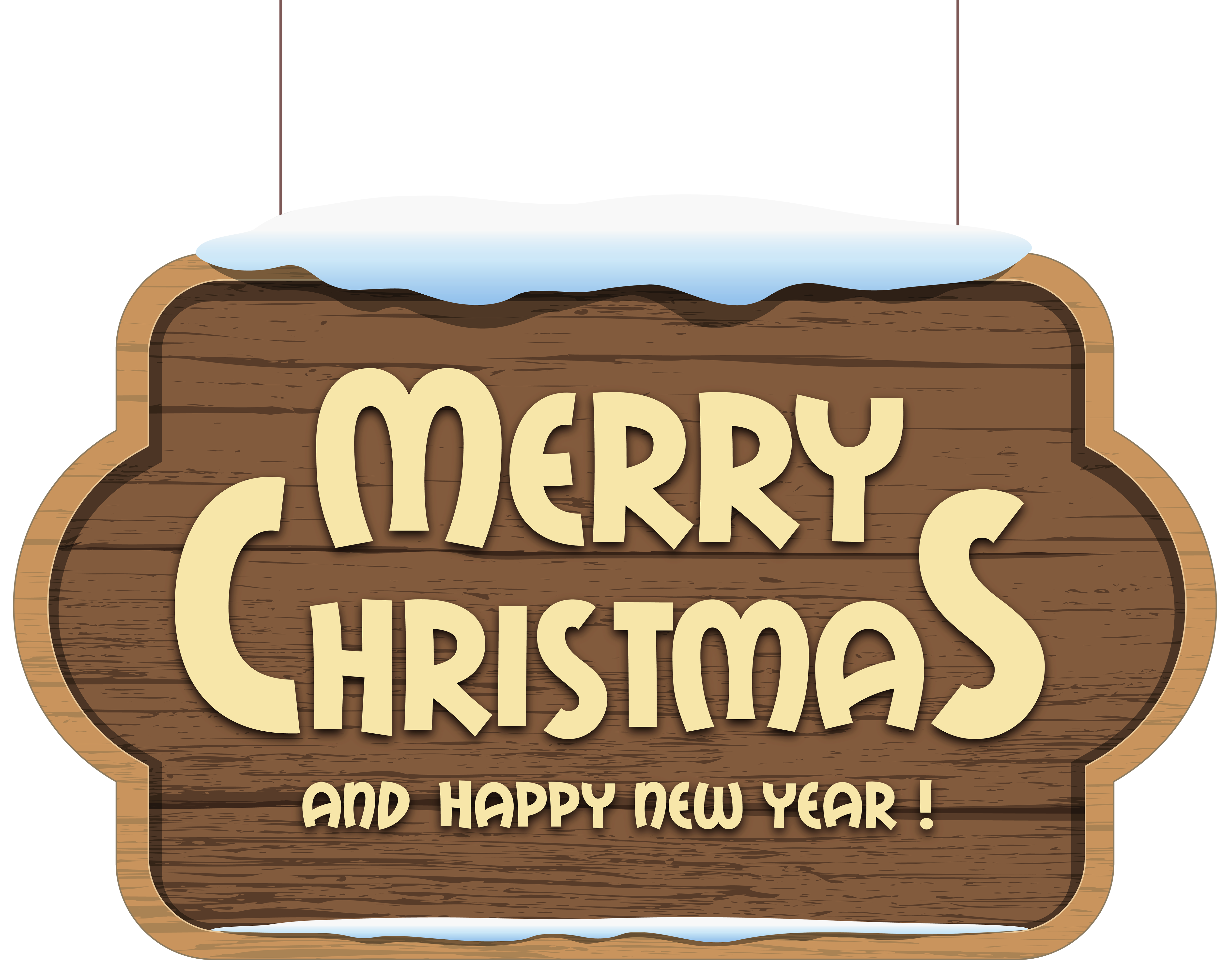 Christmas vacation clipart svg royalty free library Merry Christmas Wooden Sign PNG Clipart Image | Gallery ... svg royalty free library