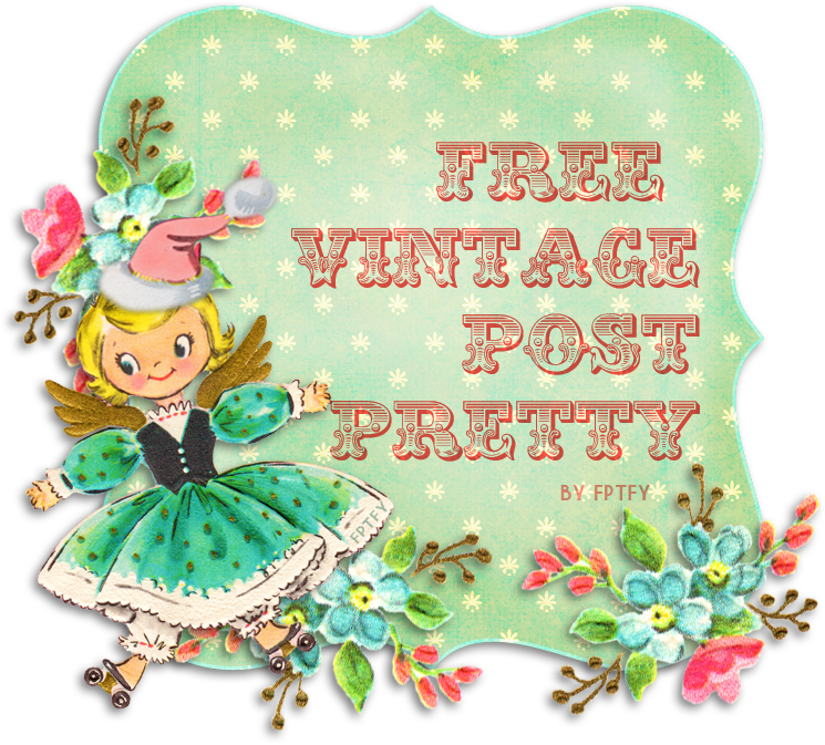Free vintage christmas clipart image black and white library Free Vintage Christmas Post Pretty image black and white library