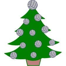 Christmas volleyball clipart svg free stock christmas tree | Volleyball | Volleyball clipart, Volleyball ... svg free stock