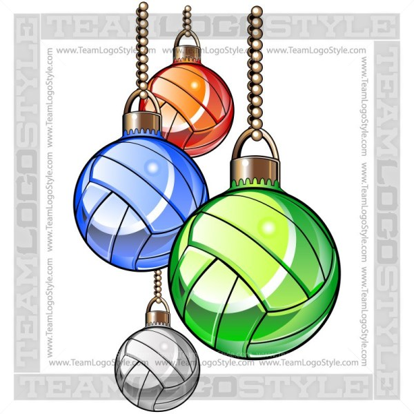 Christmas volleyball clipart royalty free library Christmas Volleyball Clipart - Vector Clipart Christmas ornaments royalty free library