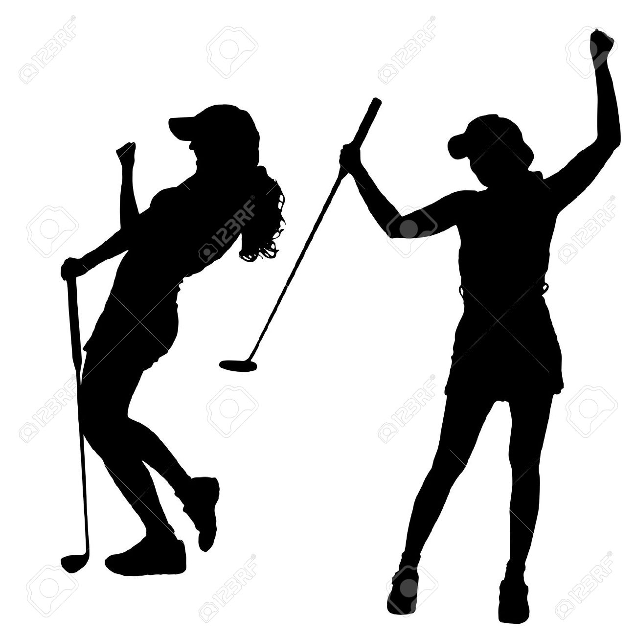 Ladies golf clipart images jpg free library Ladies Golf Clipart | Free download best Ladies Golf Clipart on ... jpg free library
