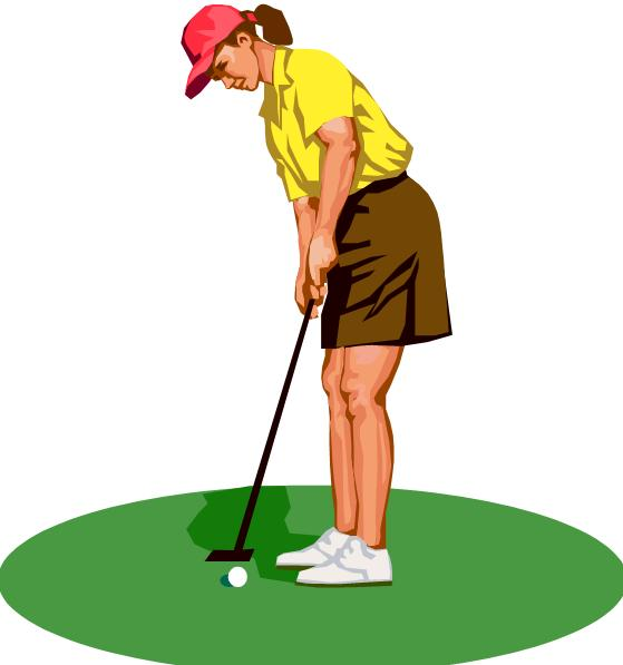 Free clipart ladies golf jpg royalty free library Free Girls Golf Cliparts, Download Free Clip Art, Free Clip Art on ... jpg royalty free library
