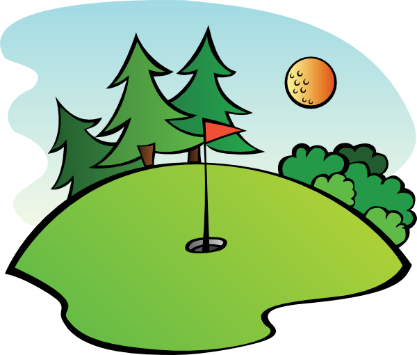 Clipart golf green picture free golf clip art | Golf Course clip art | Golf | Golf push cart, Golf ... picture free