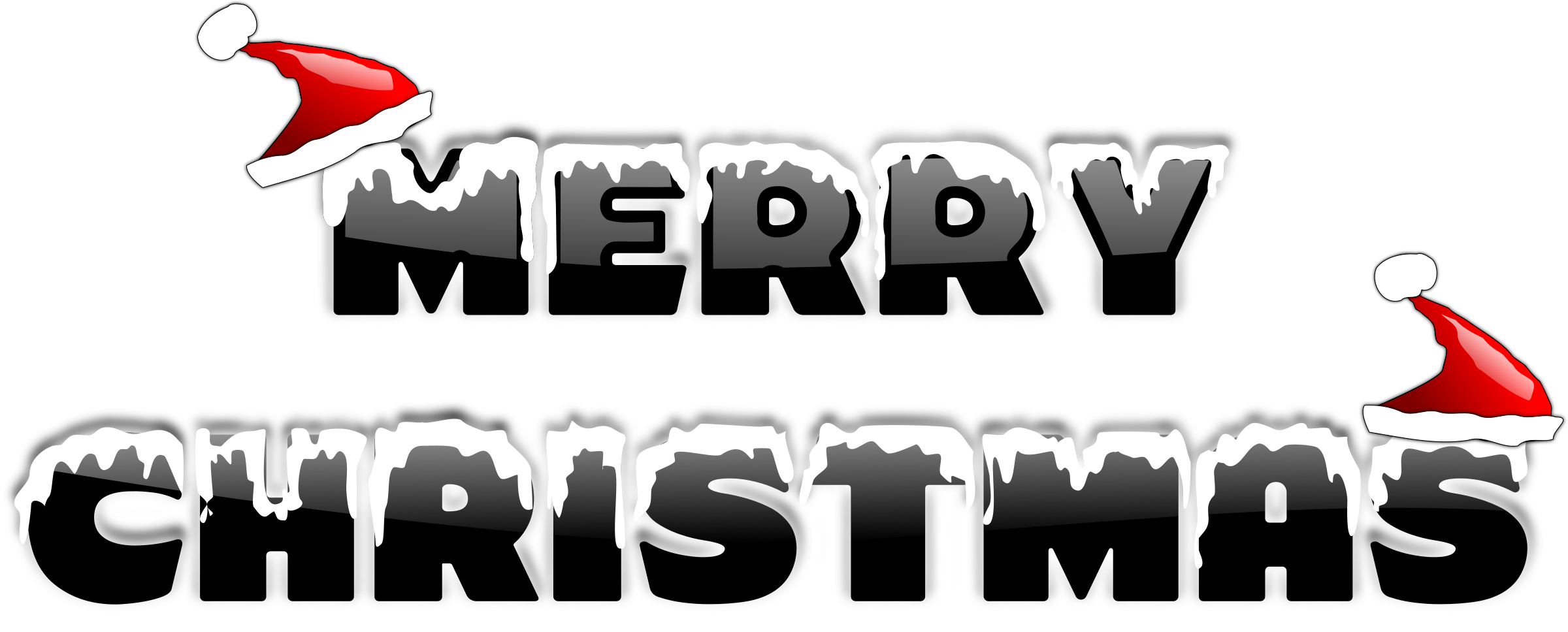 Merry christmas words clipart jpg black and white stock Clipart - MERRY CHRISTMAS 2010 (2) jpg black and white stock