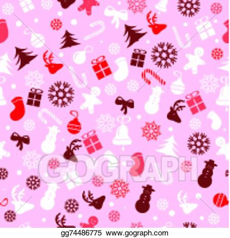 Christmas wrapping paper background clipart svg transparent download EPS Vector - Christmas background, seamless tiling, great choice for ... svg transparent download