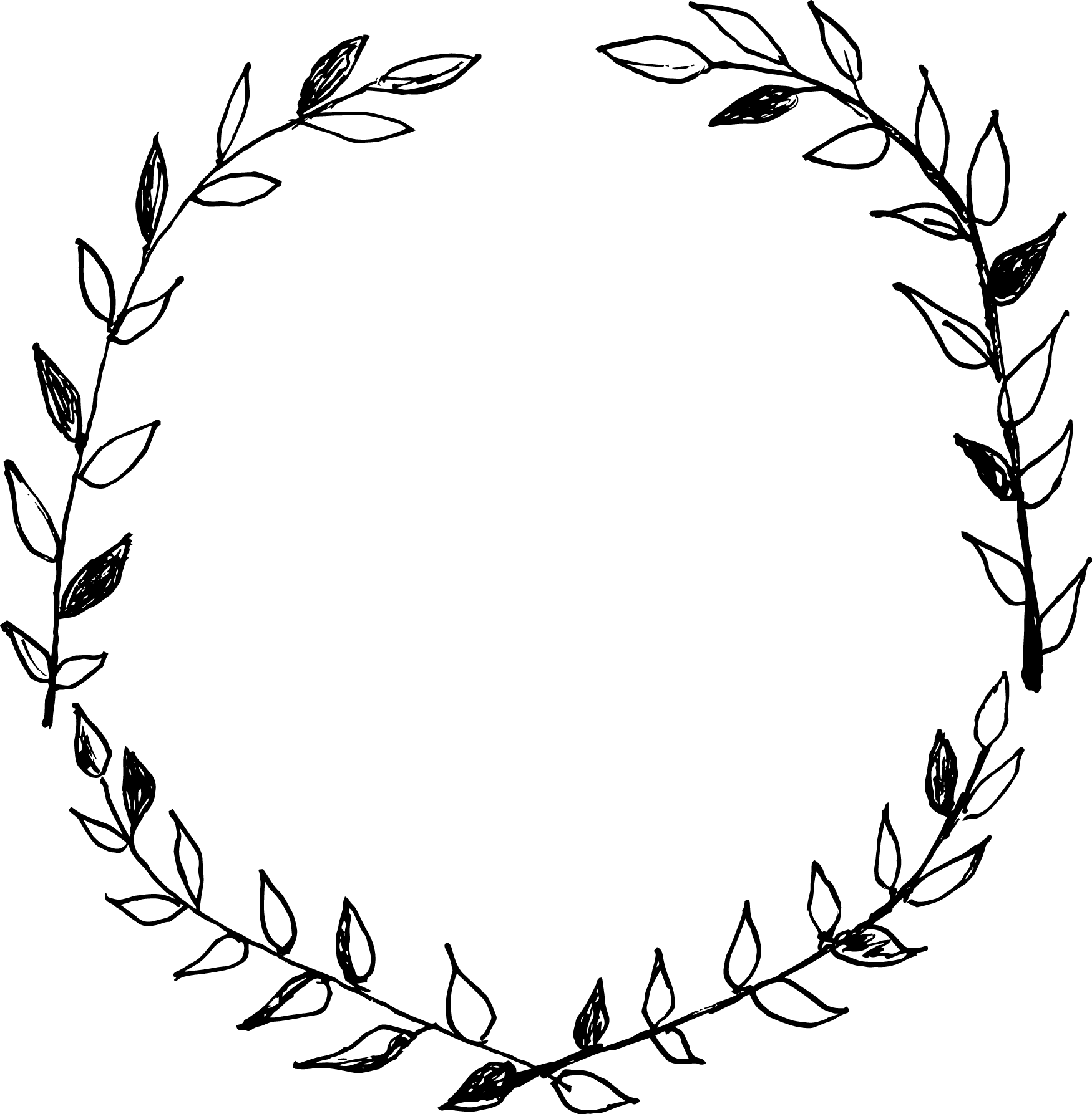 Hand drawn crown clipart svg royalty free library hand drawn oval wreath frame - Google Search | Papier | Pinterest ... svg royalty free library