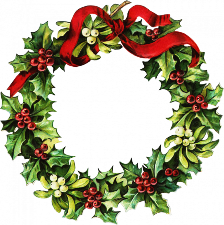 Free christmas wreath clipart banner transparent 19 Wreath clipart HUGE FREEBIE! Download for PowerPoint ... banner transparent