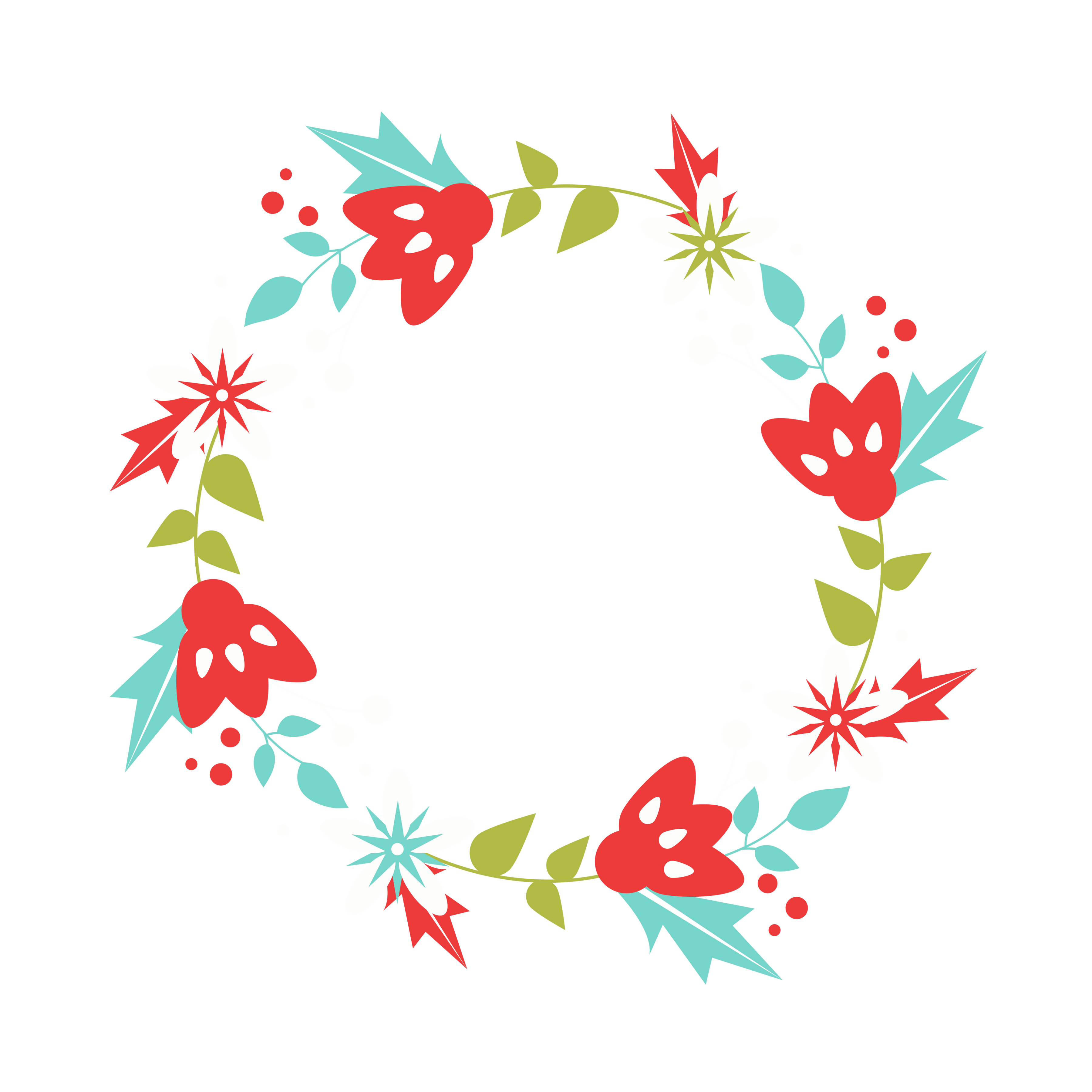 Christmas wreath clipart free picture transparent library Free Christmas Wreath Clip Art! - Free Pretty Things For You picture transparent library