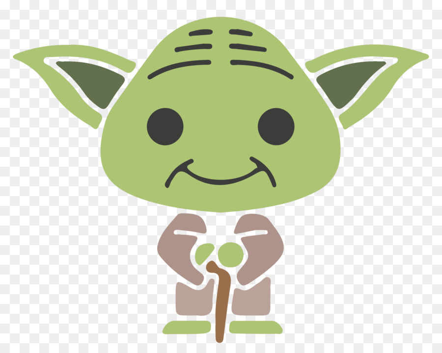 Christmas yoda clipart vector black and white download Star Wars Day png download - 2550*2040 - Free Transparent Yoda png ... vector black and white download