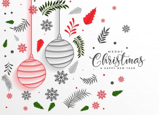 Christmascenefa clipart