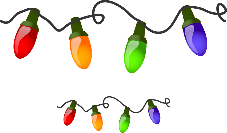 Christmaslights clipart picture free stock Free Free Christmas Lights Clipart, Download Free Clip Art, Free ... free stock