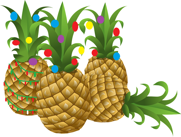 Christmaspineapple clipart picture library download Christmas Pineapple Clipart picture library download