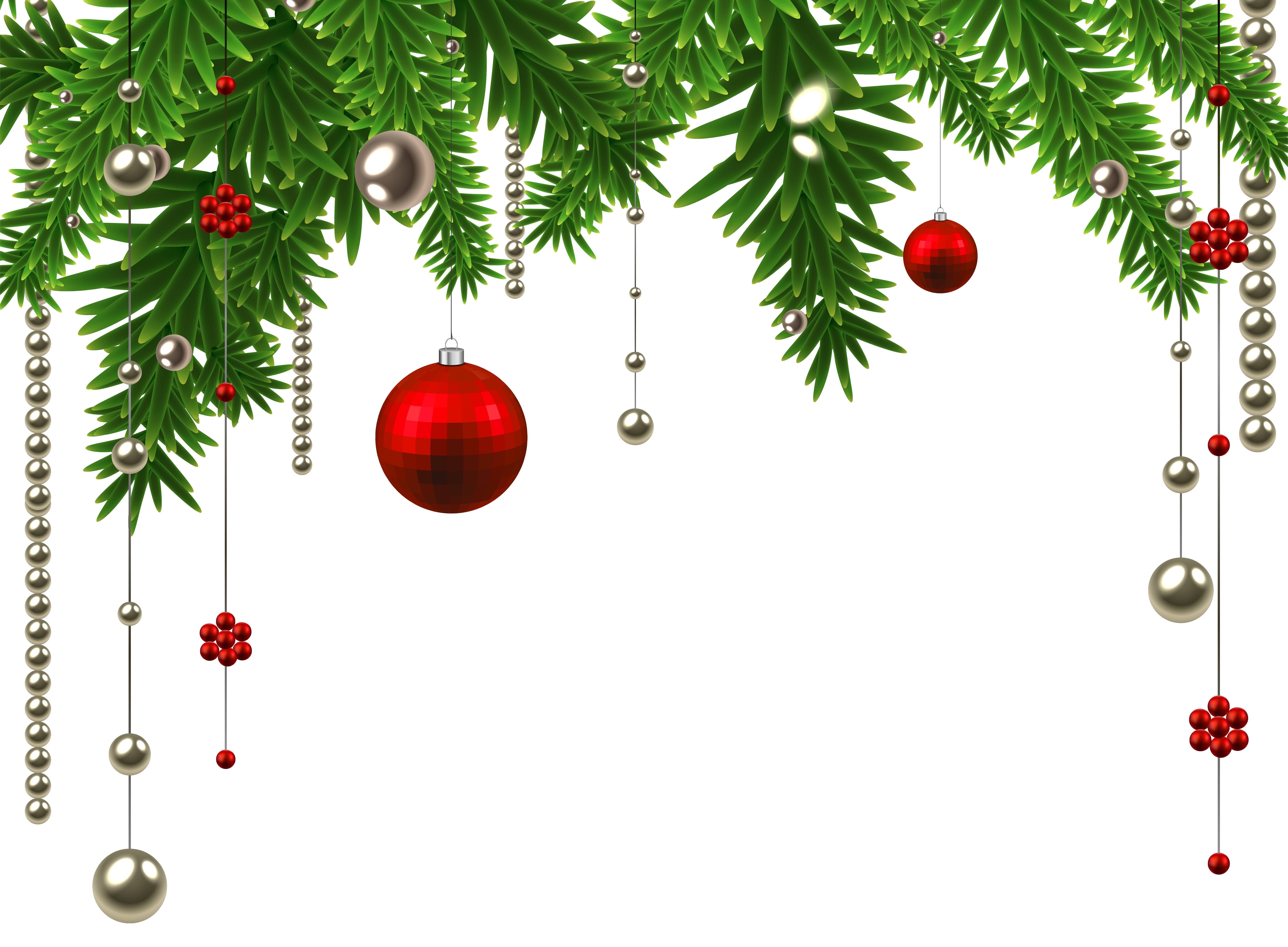 Chritmas decorations clipart image download Christmas Hanging Ball Decoration PNG Clipart Image | Gallery ... image download
