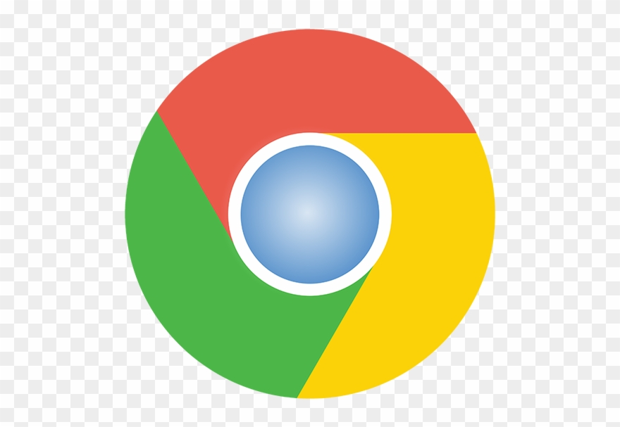 Chrome logo clipart