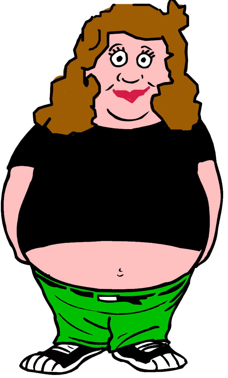 Fat women clipart graphic freeuse library Free Fat Cliparts, Download Free Clip Art, Free Clip Art on Clipart ... graphic freeuse library