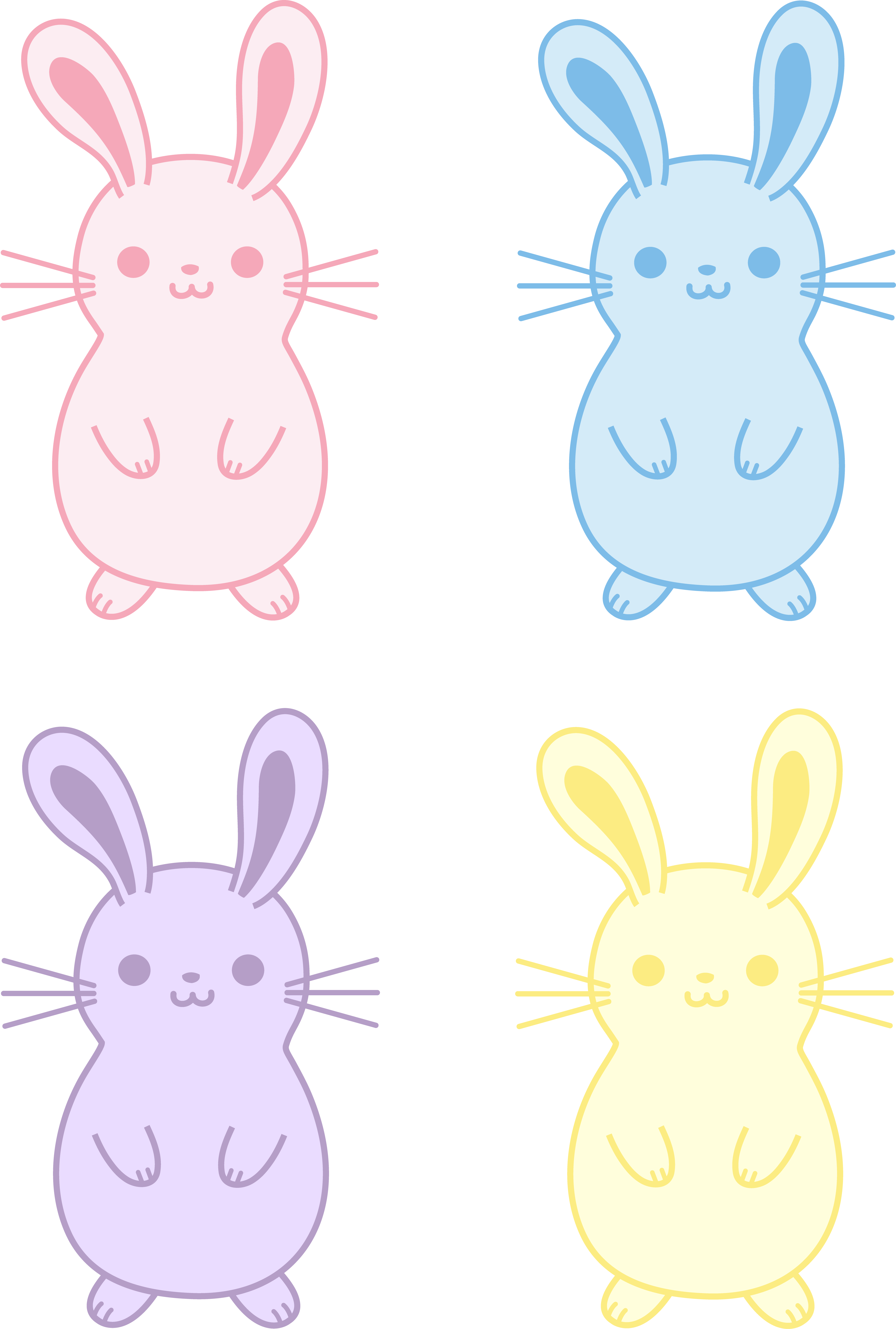 Chubby snowflake clipart clip free library Bunny Clipart Chubby Free collection | Download and share Bunny ... clip free library