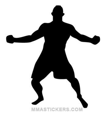 Chuck liddell clipart clipart free download Chuck Liddell 4x4 Vinyl Decal Chuck The Iceman by AMAvinyl, $5.00 ... clipart free download