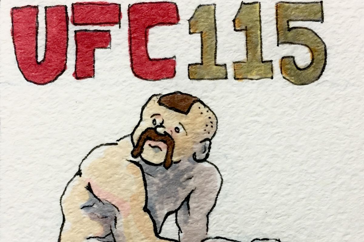 Chuck liddell clipart clip art library library MMA Squared Historical: Chuck Liddell\'s final UFC fight - Bloody Elbow clip art library library