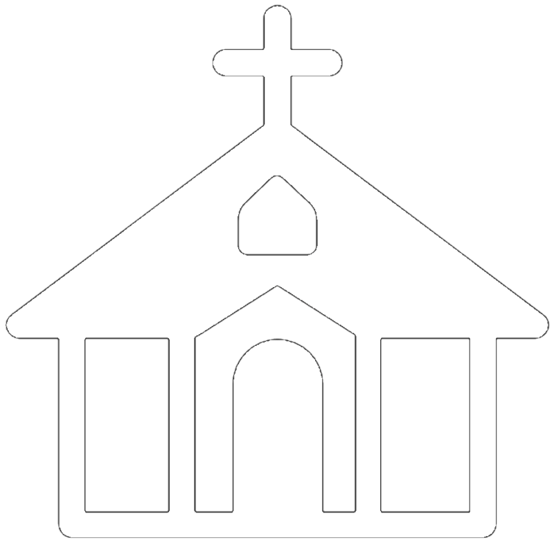 Church black cross clipart freeuse library Free Church Clipart Black And White Images & Photos【2018】 freeuse library