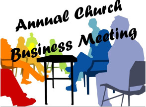 Church business meeting clipart picture black and white library 2017 Annual Business Meeting Held | Pataskala Seventh Day Baptist picture black and white library