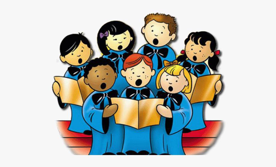 Church choir singing clipart clip black and white Singing Clipart Church - Children\'s Choir Clip Art, Cliparts ... clip black and white